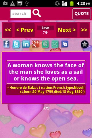 【免費娛樂App】Love and Romance Quotes-APP點子