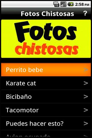 Fotos Chistosas - screenshot