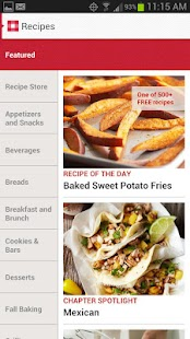Must-Have Recipes from BHG - screenshot thumbnail
