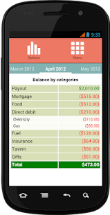 Supermon Free Finance Manager- screenshot thumbnail