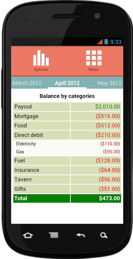 Supermon Free Finance Manager- screenshot