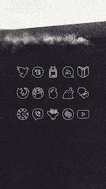 White Line Go Apex Nova Theme Screenshot 4