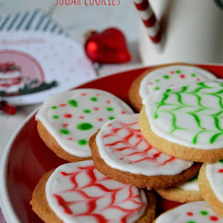 Cinnamon and Black Pepper Sugar Cookies.