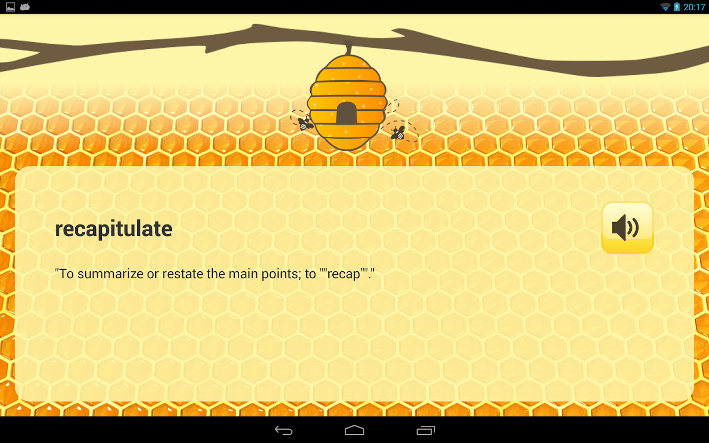 Spelling Bee - screenshot