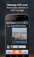 Screenshot of Voxer Walkie Talkie Messenger