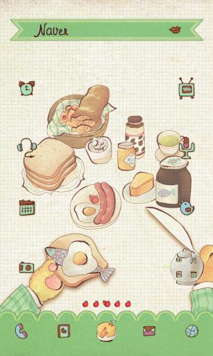 Meals dodol launcher theme