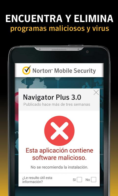 Norton Antivirus y Seguridad - screenshot