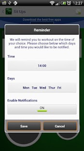 Sit Ups - Fitness Trainer- screenshot thumbnail