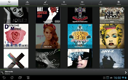 PlayerPro Music Player Trial - screenshot thumbnail