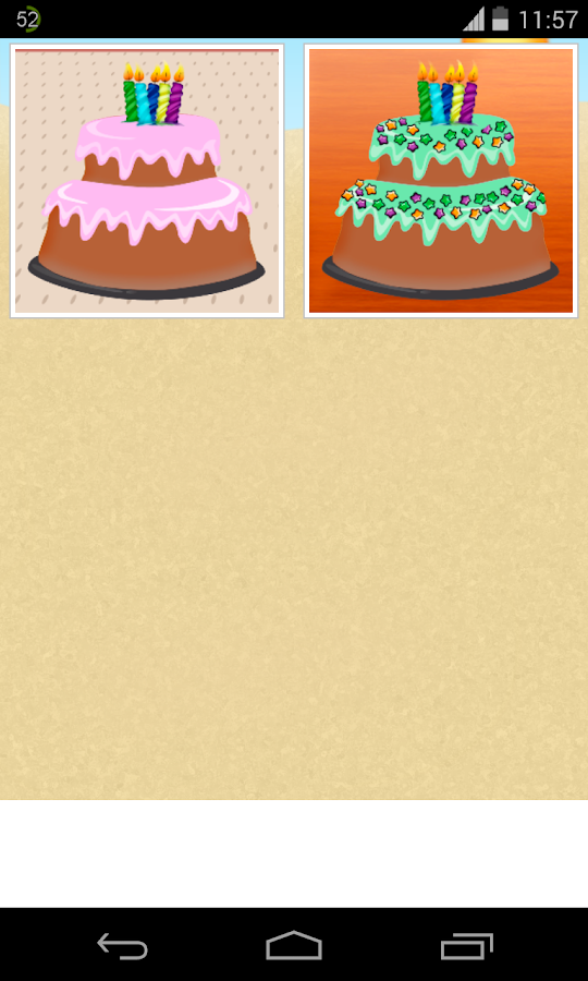 Sell Cake Games - screenshot