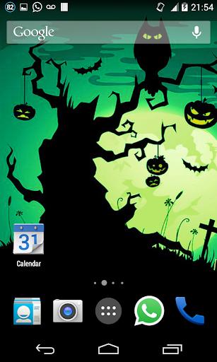 Halloween HD Live Wallpaper 8