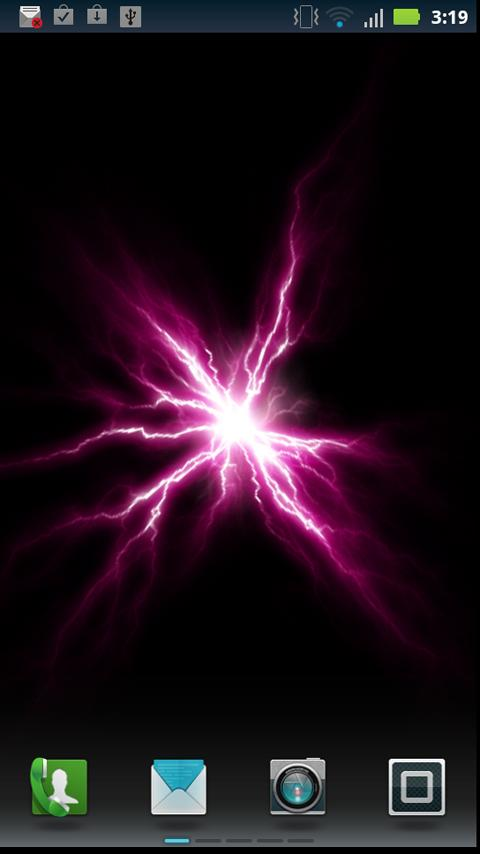 Plasma Disk live wallpaper - screenshot