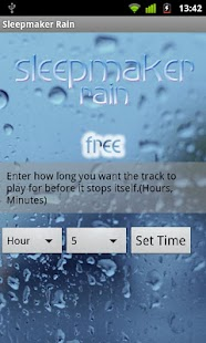Sleepmaker Rain- screenshot thumbnail