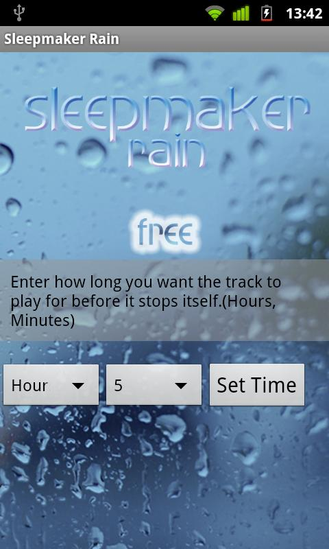 Sleepmaker Rain- screenshot