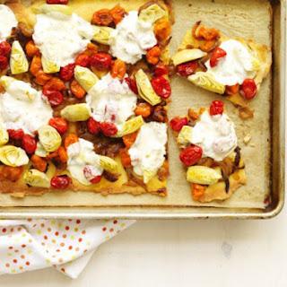 Gluten-Free Roasted Tomato Pizza