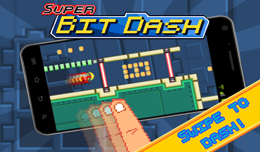 Super Bit Dash - screenshot thumbnail