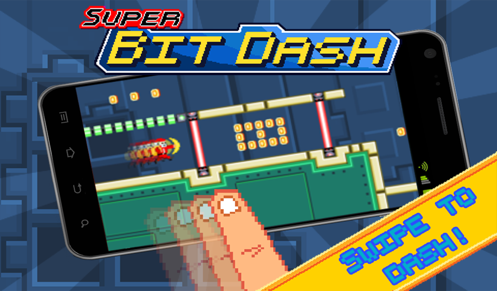 Super Bit Dash - screenshot