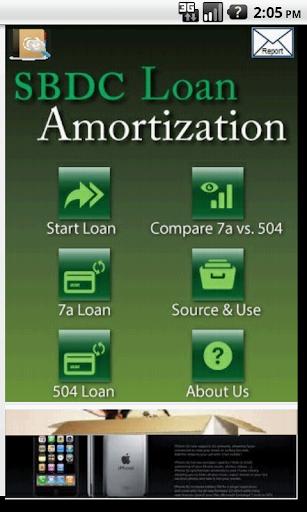 SBDC LoanCalculator