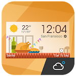 daily weather report clock 4.8.2.b_release Apk
