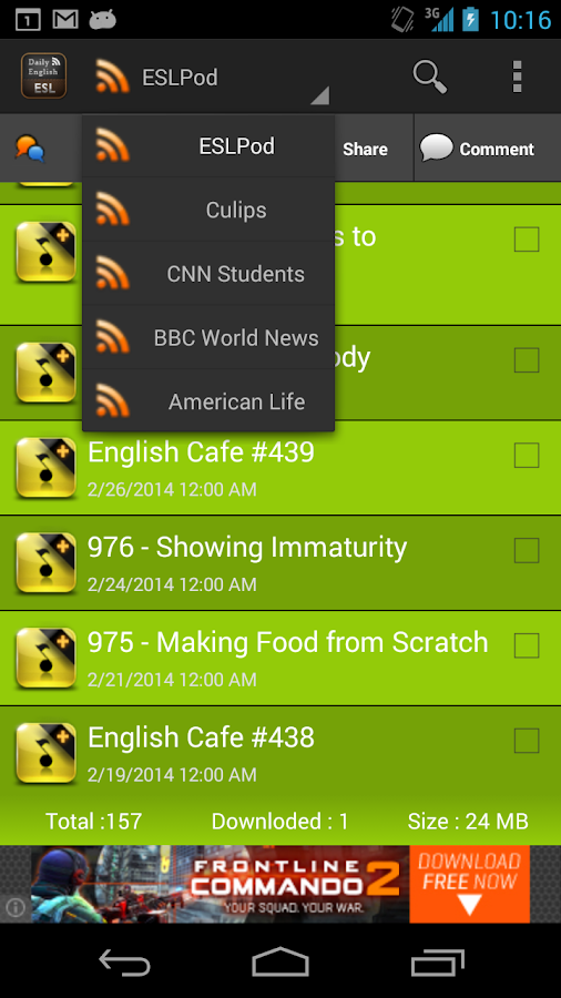 ESL Daily English- screenshot