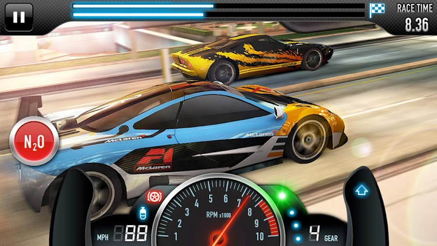 android CSR Racing Screenshot 7