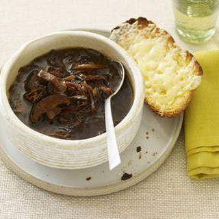 French Onion and Wild Mushroom Soup
