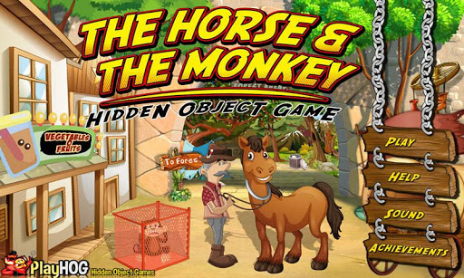 Horse Monkey - Hidden Object