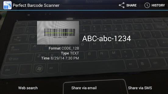 完美条码扫描器