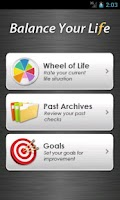 Screenshot of Balance Your Life