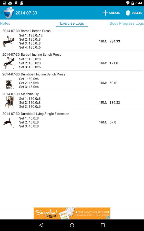 JEFIT Workout Tracker Gym Log - screenshot
