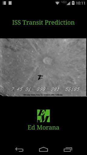 ISS Transit Prediction Pro