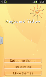 Keyboard Yellow - screenshot thumbnail