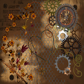 Steampunk 2 GO LOCKER THEME