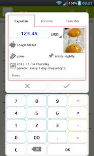 CashFlow+(pro) expense manager - náhled