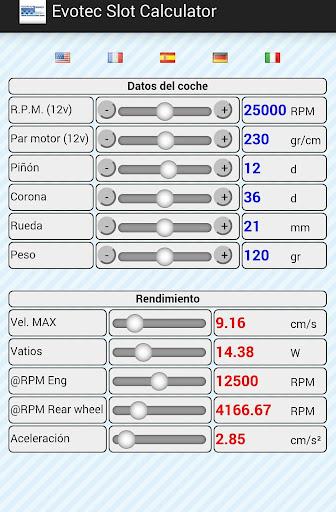 Evotec Slot Calculator