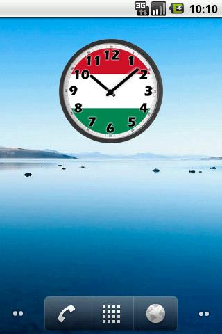 Hungary Clock