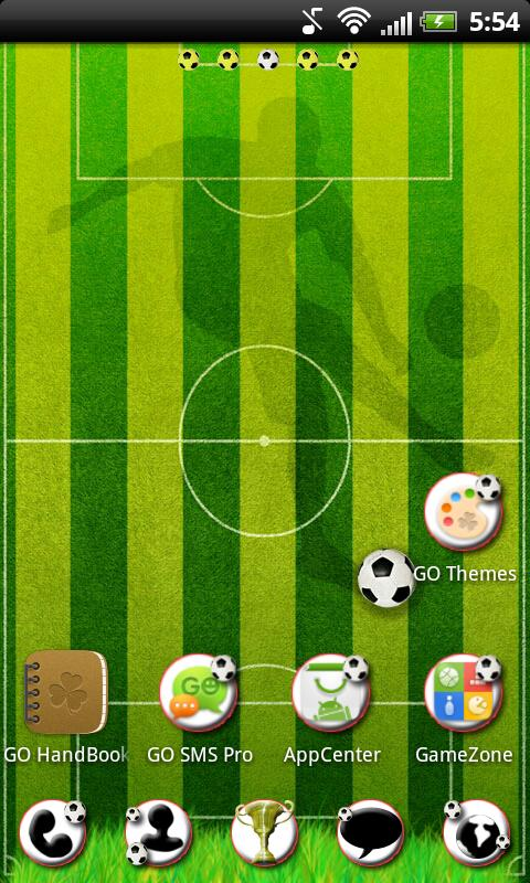 GO Launcher EX Football Theme - screenshot