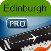 Edinburgh Airport+Flight Track