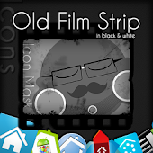 Film Strip Icons Black & White