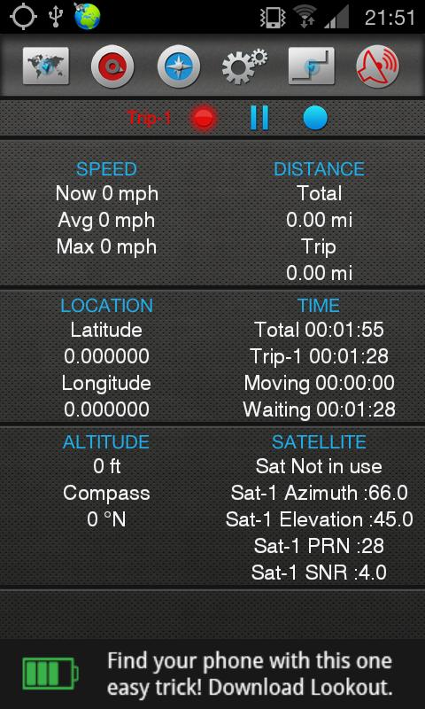 Gps Traveler - screenshot
