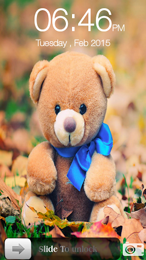 泰迪熊滑鎖