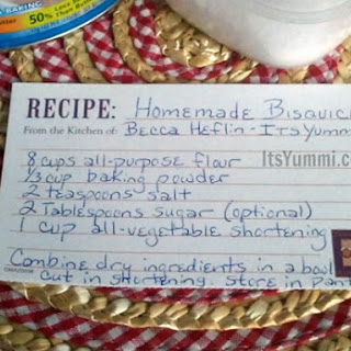 DIY - Homemade Baking Mix {Bisquick}