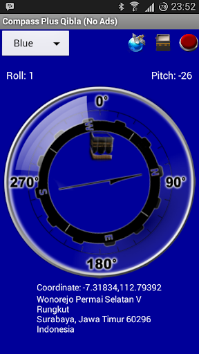 【免費工具App】Compass Plus Qibla (No Ads)-APP點子