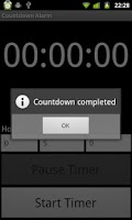 Screenshot of Countdown Alarm