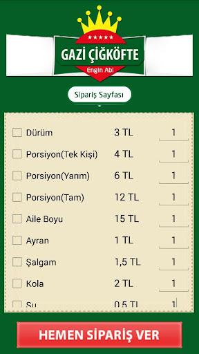 【免費購物App】Gazi Çiğköfte - Engin Abi-APP點子