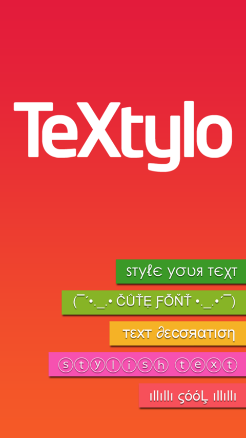 TeXtylo - Style your Text Free- screenshot