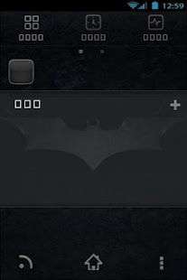 Dark Knight GoLauncher - screenshot thumbnail
