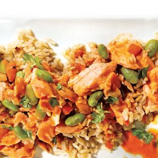 Salmon Curry.