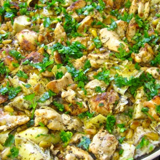 Chicken and Artichoke Rice