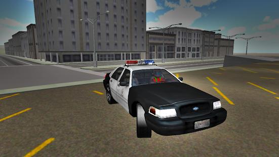 Police-Drift-Car